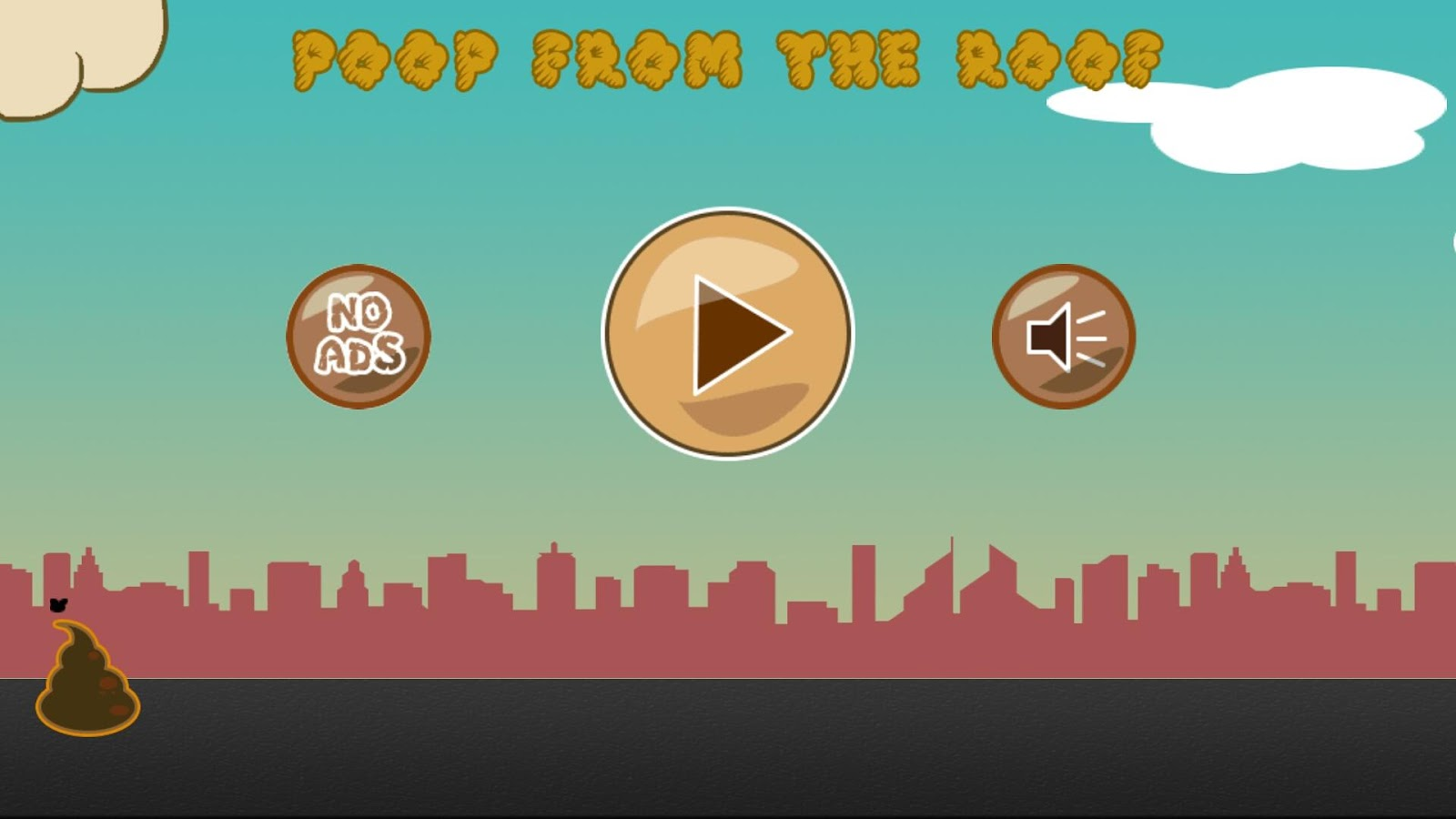 Poop From The Roof- screenshot