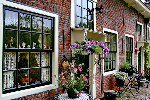Holländische Fensterdekoration Architectural Detail Buildings