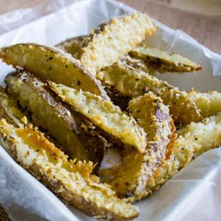 Garlic Parmesan Oregano Oven Fries
