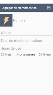 Medidor de Consumo eléctrico - náhled