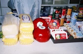 Photo: 03105 ウランバートル/風景/ダライ・エージ(海の母)/食料品専門の市場/輸入チーズ