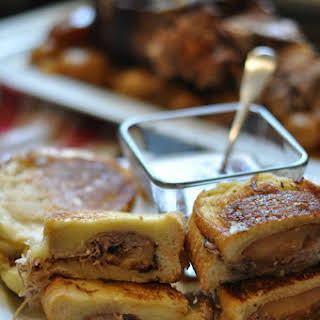 Pot Roast Grilled Cheese Sandwiches.