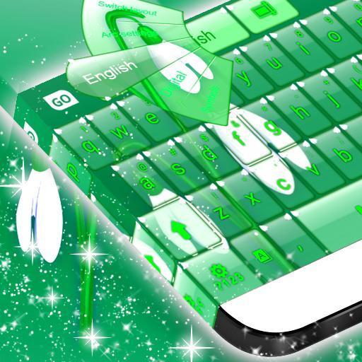 GO Keyboard Snowdrop Theme