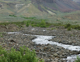 Photo: One of the many small streams draining off the precipitous eastern escarpment of Steens Mountain