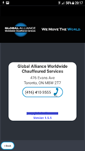 Global Alliance Limousine- screenshot thumbnail