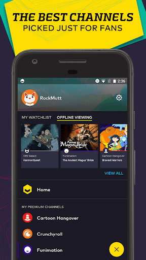 VRV: Anime, game videos & more  screenshots 2