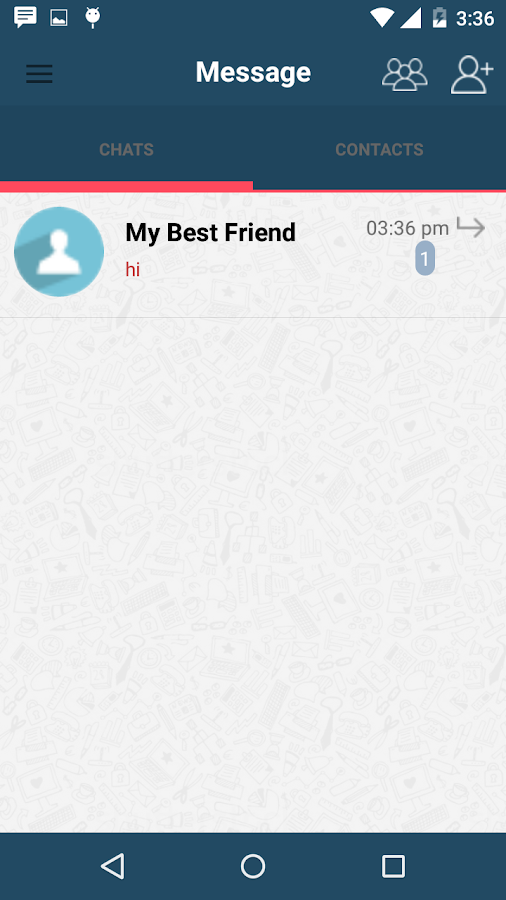 NectarchatNext-chat,text app- screenshot