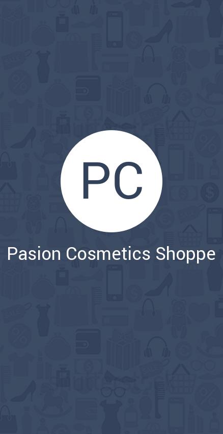 Скриншот Pasion Cosmetics Shoppe