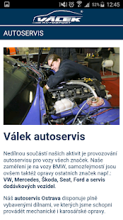 Válek Autosport- screenshot thumbnail