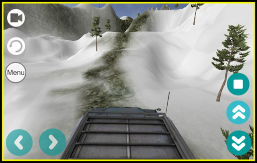 3D Mountain driving challenge