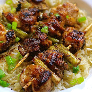 Chicken & Scallion Yakitori