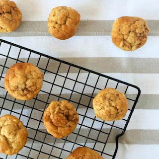 Banana and Cinnamon Spelt Mini Muffins