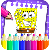 Paint Spogebober Coloring Game