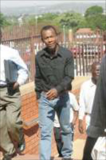 Wayward leremi fails to come to court faces imminent arrest accused gift leremi at the randburg magistrates court pic antonio muchave negle Images