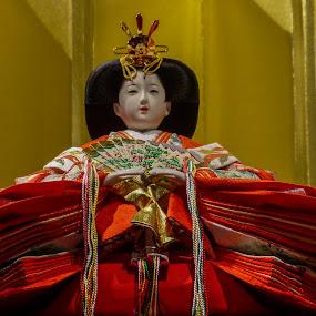 japanese female doll by Alen Zita - Artistic Objects Toys ( doll, japan, croatia, zagreb, culture )