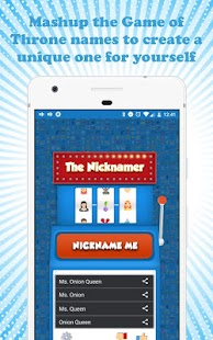 The Nicknamer – Best FREE Nickname generator- screenshot thumbnail