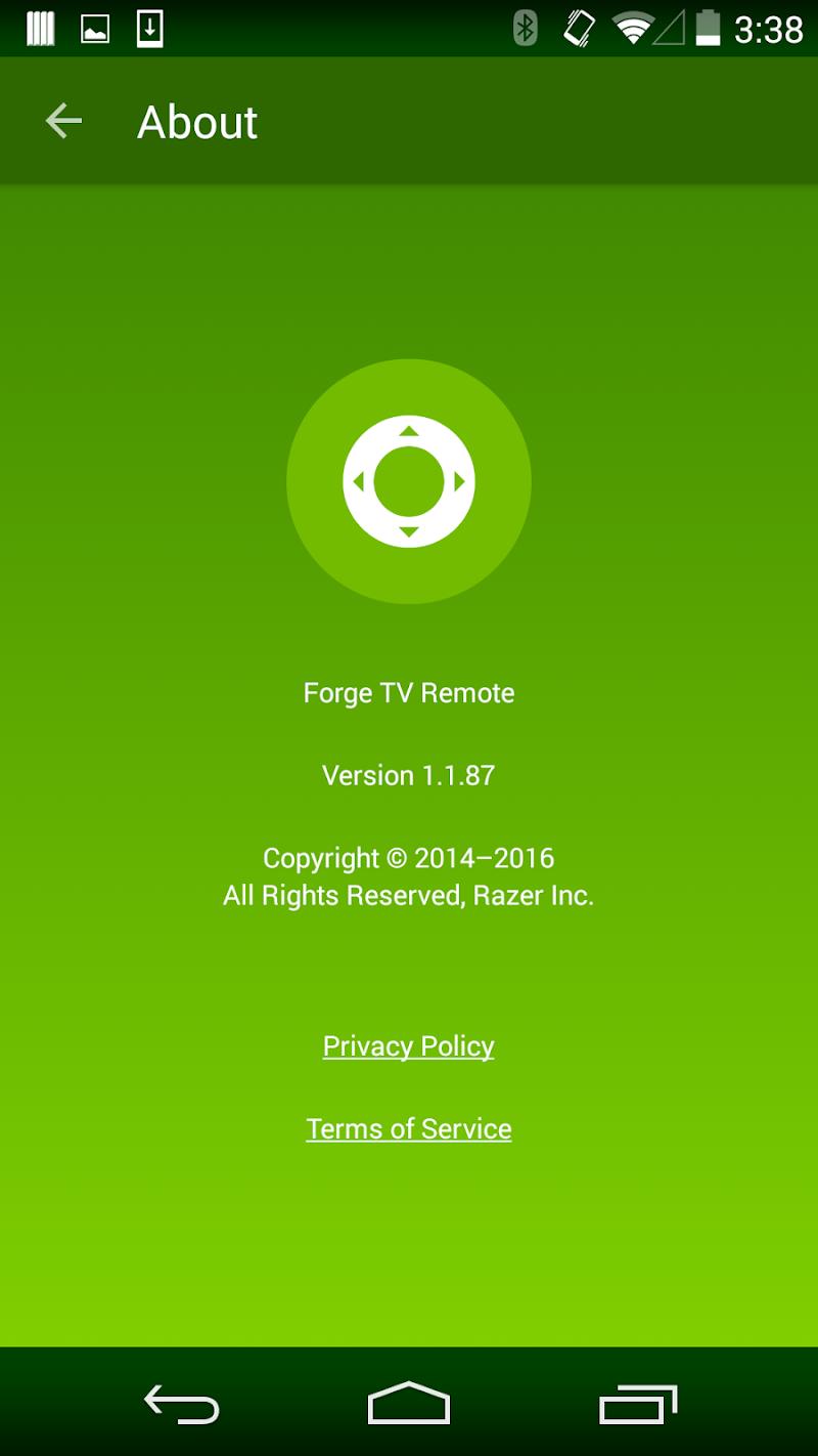 Скриншот Forge TV Remote