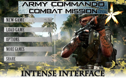 Army Commando Combat Mission game APK for Blackberry