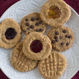 Low FODMAP Vegan Peanut Butter Cookies.
