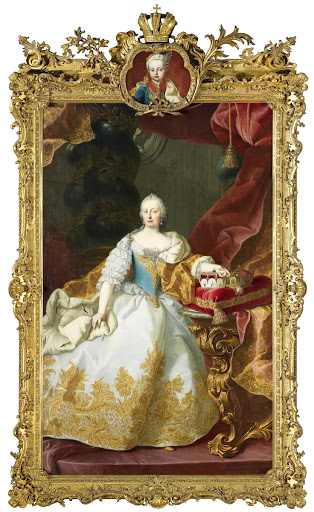 Maria Theresa with Joseph II as Child