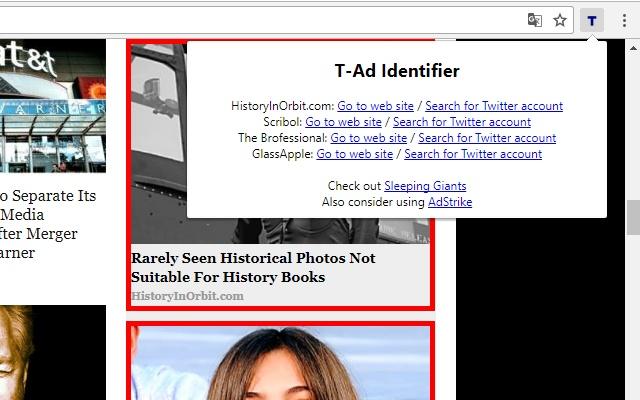 T-Ad Identifier