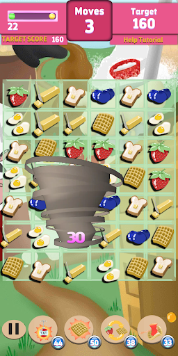 Waffle Smash: Chicken & Waffles  captures d'écran 3