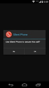 Silent Phone - private calls - screenshot thumbnail