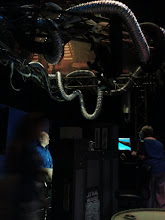 Photo: The carbon freezing chamber. Ominous!
