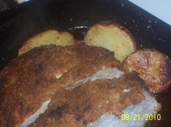 Pork Tenerloin With Vegetables Recipe