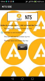 NTS Educator Test - náhled
