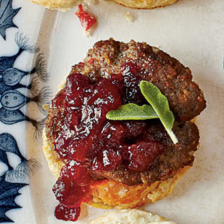 Sausage-Cranberry Biscuit