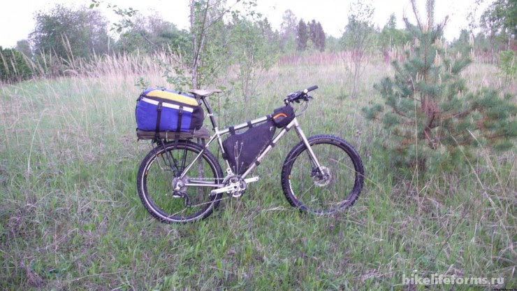 Велопоход на Держу