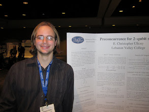 Photo: Chris, MAA Poster Session, JMM New Orleans, January 2011