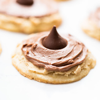 Double Frosted Peanut Butter Blossoms