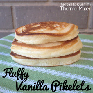 Fluffy Vanilla Pikelets Recipe
