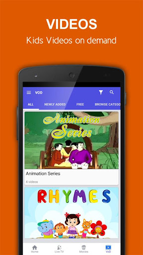 nexGTv Kids – Rhymes Cartoons 1.1.0 screenshots 4