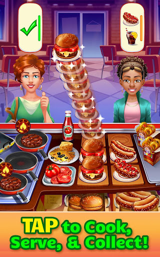 Cooking Craze - A Fast & Fun Restaurant Chef Game  mod screenshots 1