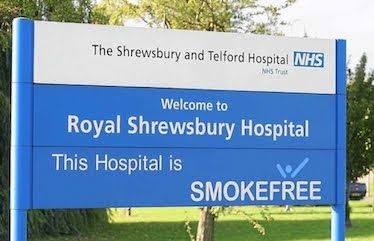 "A&E plea from ""extremely busy"" Shrewsbury hospital"