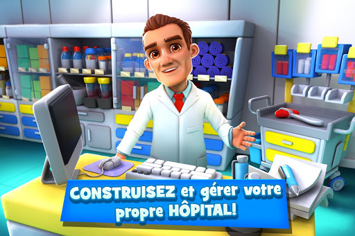 Dream Hospital Simulation - Manager D'Hôpital  captures d'écran 1