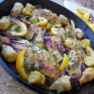 Greek Chicken With Artichokes And Olives Recipes