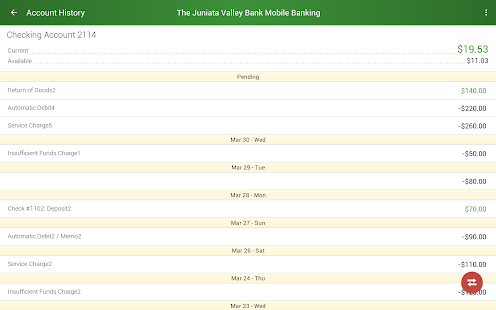 The Juniata Valley Bank- screenshot thumbnail