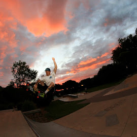Sunset shoots  by Tim Kavanagh - Sports & Fitness Skateboarding