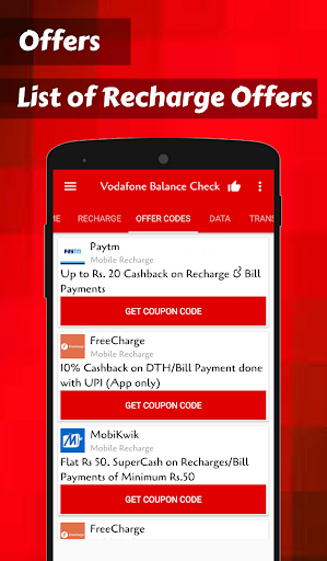 App for Vodafone Balance Check & Vodafone Recharge by Eminent Appz