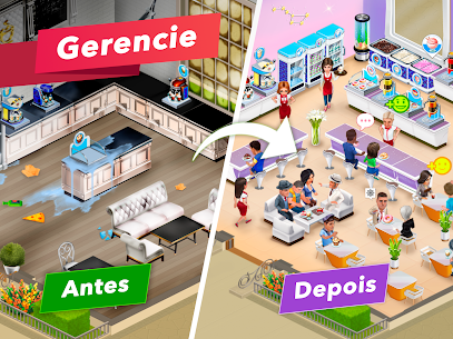 My Cafe Recipes & Stories Apk Mod Dinheiro Infinito 6
