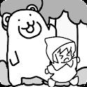 森でクマさんテラヤバス 少女を熊の猛攻から守りきれ! icon