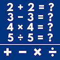 Math Game - Learn Add, Subtract, Multiply & Divide icon