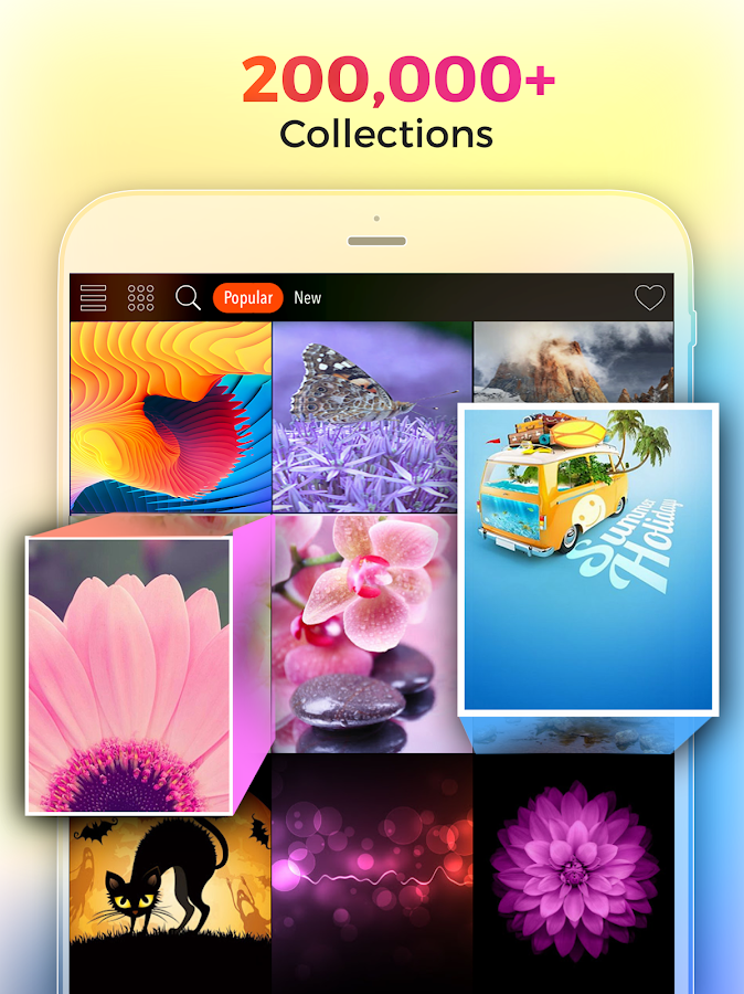 Screenshots of Cool Wallpapers HD Kappboom® for iPhone
