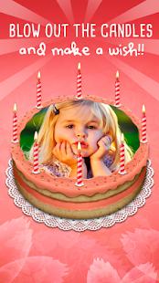 Photo On Birthday Cake - Photo Editor - náhled