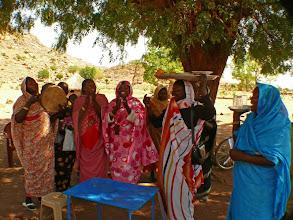 Photo: beginning of the henna ceremony, Kadugli, Sudan