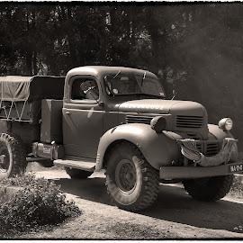 The Pattondrivers  by Jos Meubis - Transportation Automobiles